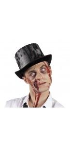 Chapeau de Zombie noir halloween