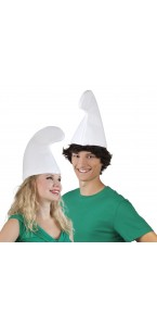 Chapeau Schtroumph blanc