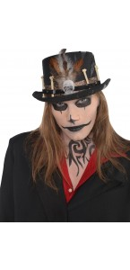 Chapeau Vaudou Witch Doctor Halloween