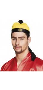 Chapeau XIU avec cheveux