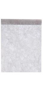 Chemin de table gris foncé 30 cm x 10 m