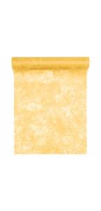 Chemin de table jaune 30 cm x 10 m