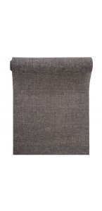 Chemin de table jute gris 28 cm x 5 m