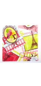 Chemin de table macaron parisien