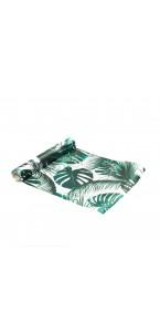 Chemin de table satin tropical 28 cm x 5 m