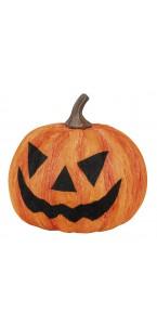 Citrouille D 18 cm pour déco Halloween