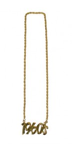 Collier années 70 or