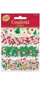 Confettis de table assortiment Noël 34 gr