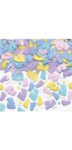 Confettis de table forme pieds