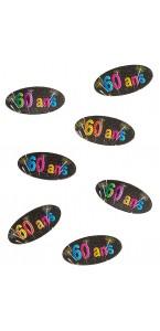 Confettis Sparkling Celebration 60 ans 34 gr