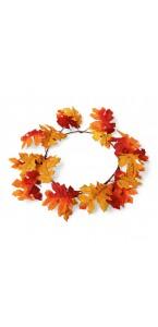 Couronne d'automne déco