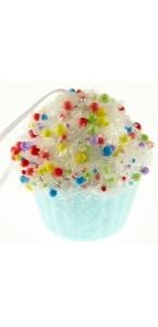 Cupcake gourmandise bleu