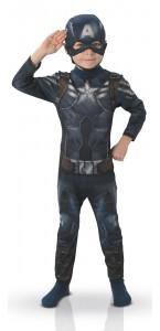 Déguisement Captain America luxe enfant