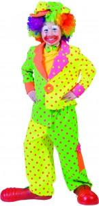 Déguisement Clown Fluo garçon
