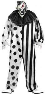 Déguisement Clown tueur adulte Halloween taille unique