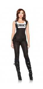 Déguisement combinaison SWAT sexy