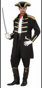 Déguisement de capitaine Pirate taille L