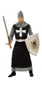 Déguisement de chevalier noir taille XL