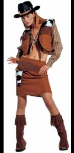 Déguisement de cowgirl adulte taille S