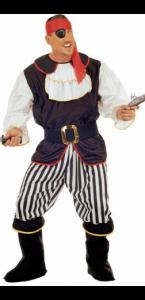 Déguisement de pirate homme taille XL