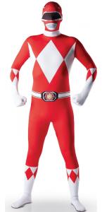 Déguisement de Power Rangers seconde peau taille L