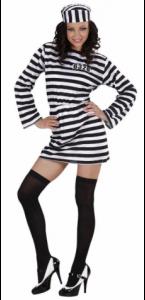 Déguisement de prisonnière sexy  taille L