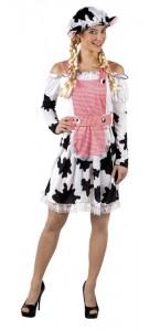 Déguisement  de vache pour femme taille M