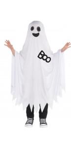 Déguisement Fantôme Boo Halloween 6/10 ans