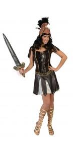 Déguisement Guerrière romaine Crixia femme