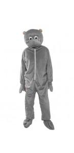 Déguisement Hippopotame gris 180 cm