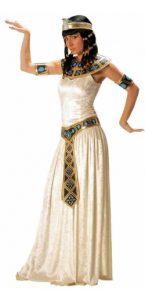 Déguisement impératrice égyptienne blanc
