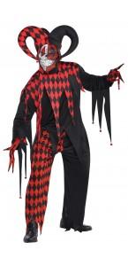 Déguisement Joker fou Halloween