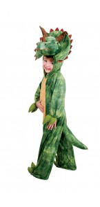 Déguisement  Kigurumi Dinosaure Tricératops enfant