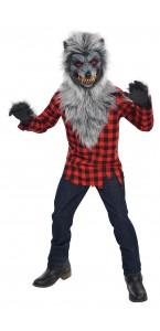 Déguisement Loup Garou Halloween adolescent