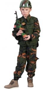 Déguisement miltaire Forces spéciales garçon