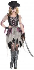 Déguisement Pirate fantôme Halloween femme