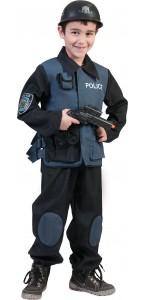 Déguisement policier Forces Spéciales garçon