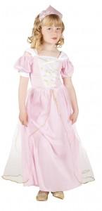 Déguisement Princesse Rose 4/6 ans