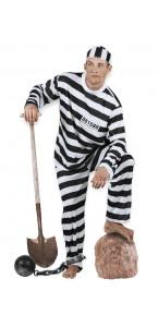 Déguisement Prisonnier Jackson homme