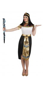 Déguisement reine égyptienne nefertari femme