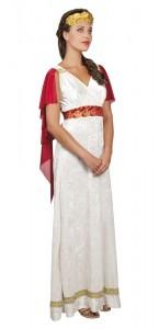 Déguisement romaine Livia luxe