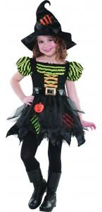 Déguisement sorcière rapiécé Halloween