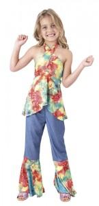 Déguisement sunstar hippie fille 7/9 ans