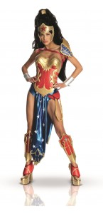 Déguisement Wonder Woman Ame- Comi adulte