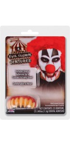 Dentier Clown tueur Halloween