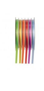 Dévidoir 6 bolducs pastel 5mm x 6 m