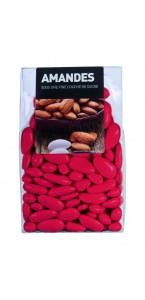 Dragées Amande Longuette Rouge 450 gr