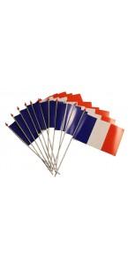 Drapeau à main France