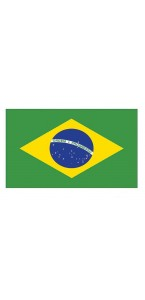 Drapeau Brésil 150 x 90 cm