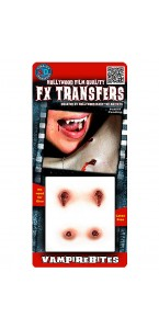 Fausse Cicatrice morsure de vampire 3D Halloween